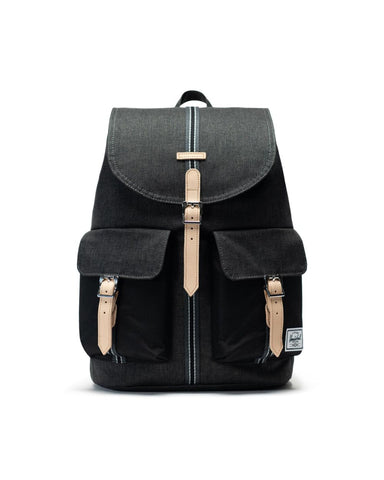 Herschel Dawson 600D Poly Backpack - Black X/Black