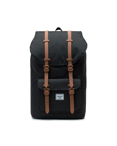 Herschel Lil America 600D Backpack - Black/Saddle