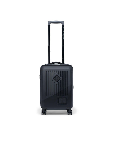 Herschel Trade Hardshell Powered Carry On Luggage - Black/Black