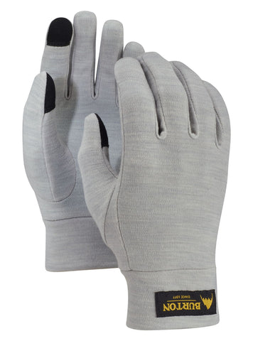 Burton Touch N Go Liner Glove - Heathered Grey
