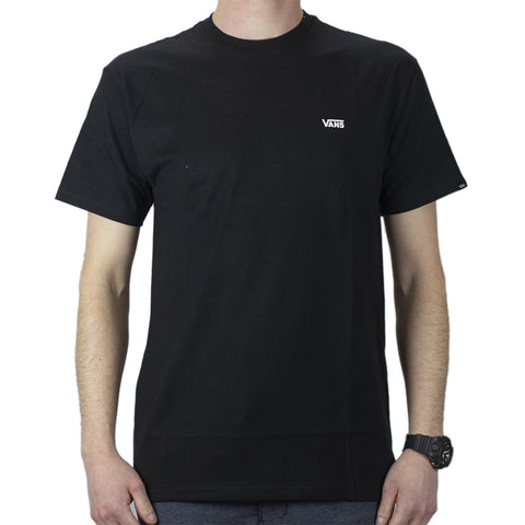 Vans Left Chest Logo SS Tee - Black/White