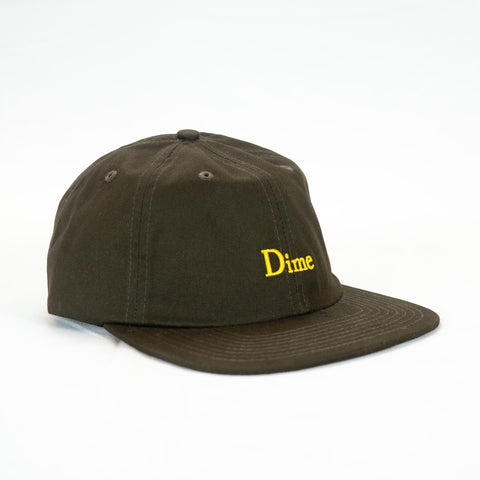 Dime Classic 6 Panel Cap - Brown