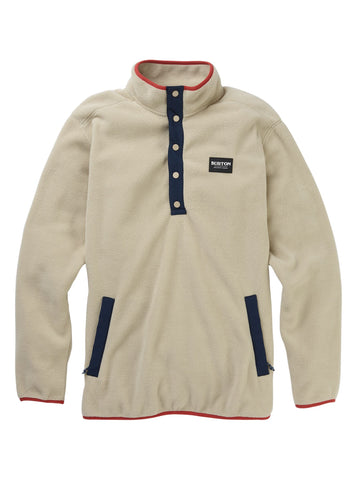 Burton M Hearth Pullover Fleece - Plaza Taupe