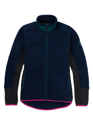 Burton 2020 W Minturn Zip Fleece  - Dress Blue