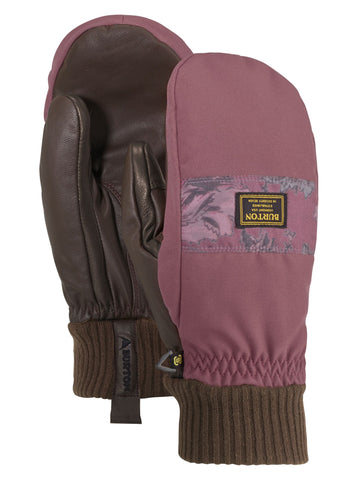 Burton Dam Mitt - Rose Brown/Floral Camo