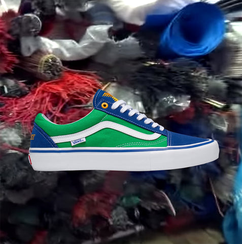 Vans x Sci-Fi Fantasy Old Skool Pro LTD Shoe - True Blue/Green