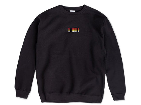 Studio Fade Crewneck - Black