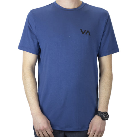 RVCA Vet SS Top - Surplus Blue
