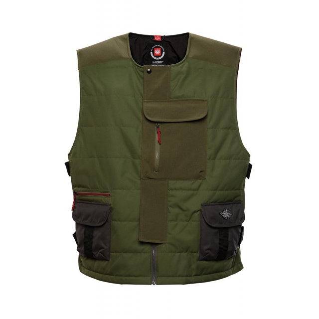 686 Torque Insulated Vest - Surplus Green
