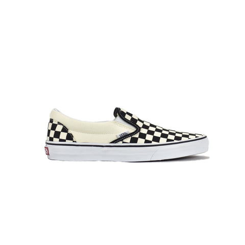 Vans Classic Slip-On Shoe - Checkerboard/Black/White