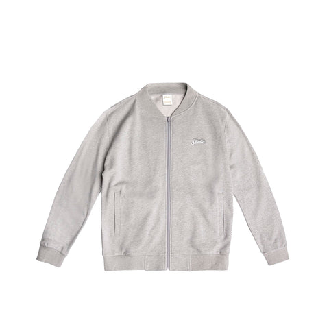 Studio French Terry Track Jacket - Heather Grey