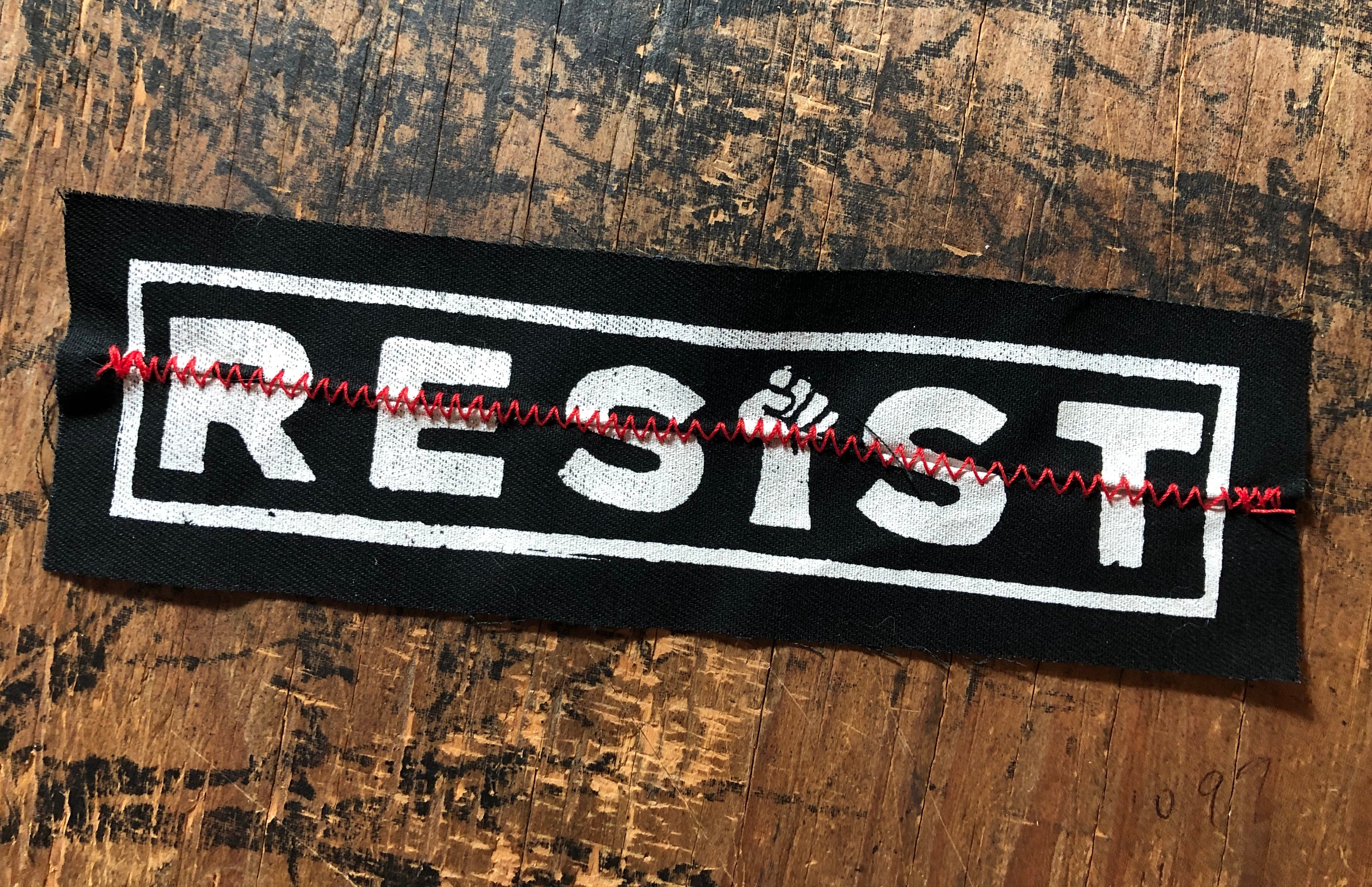 Resist Stitch Patch