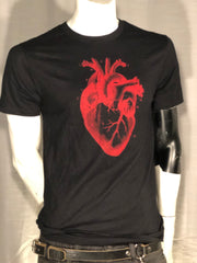 Graphic Heart Men's Tee