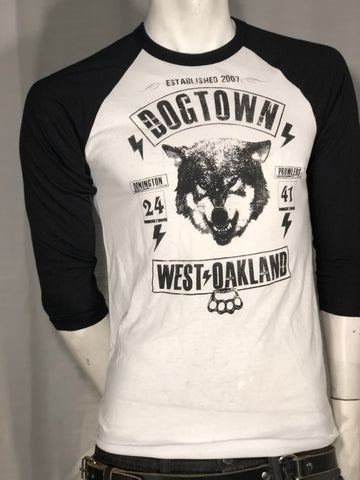 Dogtown Men's Baseball Tee