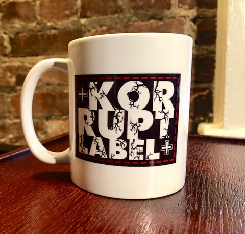 Korrupt Label Logo Coffee Mug