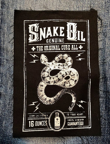 Snake Oil Patch