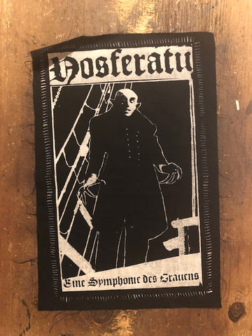 Nosferatu Jacket Patch