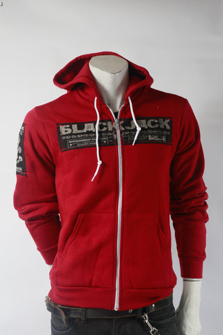 BlackJack Bombers Zip-Up Hoodie (Unisex)