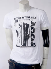 Fetish Not For Sale Men's Tee (White)