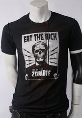 Eat The Rich Men's Stylized Tee