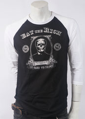 Eat The Rich Men's Baseball Tee