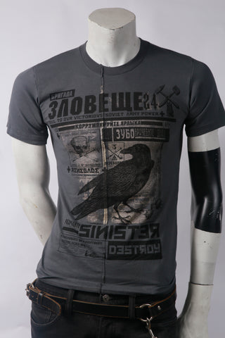 Sinister Men's Stylized Tee