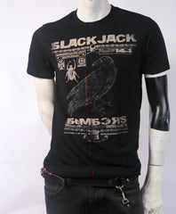 BlackJack Bombers Men's Stylized Tee