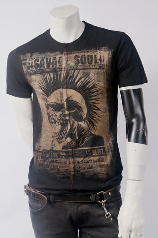 Savage Soul Men's Stylized Tee