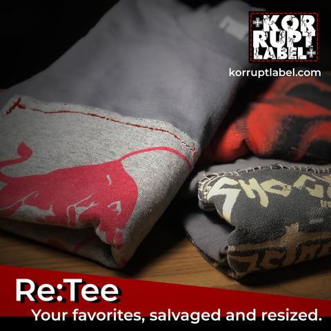 Re:Tee (Salvage & Resize): customizations