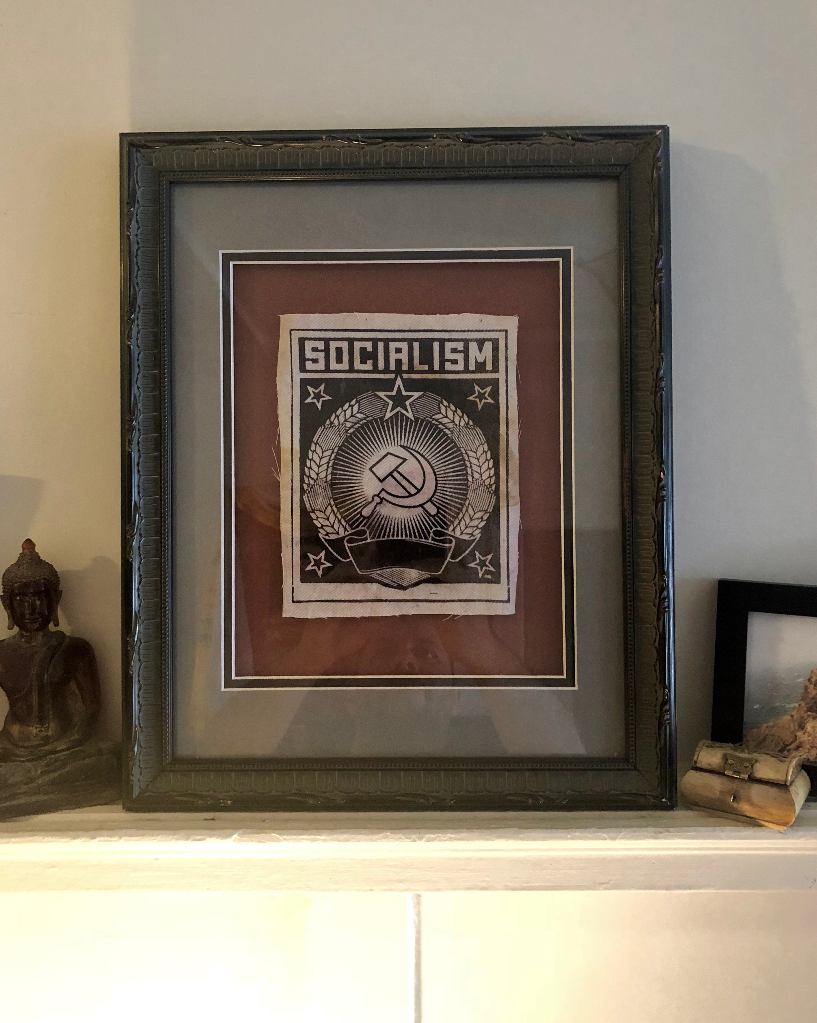 Korrupt Label Framed Patches