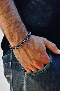 NEW Stainless Steel Stretch Bracelet