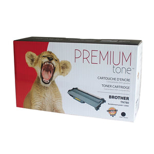 Brother TN780 Compatible Premium Tone 12K - 2 Pack