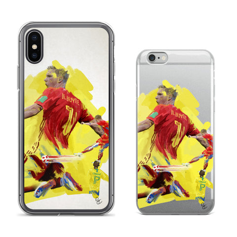 Cellphone Cases - Kevin De Bruyne, Belgium