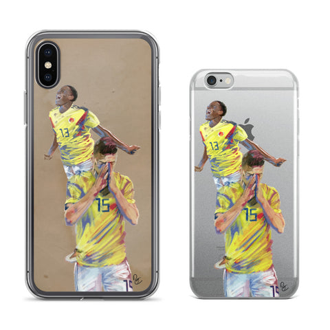 Cellphone Cases - James Rodriguez, Yerry Mina, Colombia