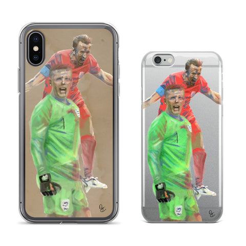 Cellphone Cases - Harry Kane and Jordan Pickford, England