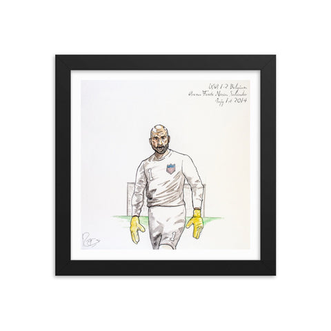 Tim Howard, The Wall
