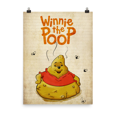 Winie the Poop - Punny Posters and Prints
