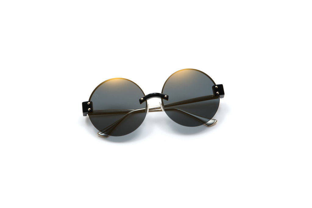 BREAK OF DAWN Black Sunglasses