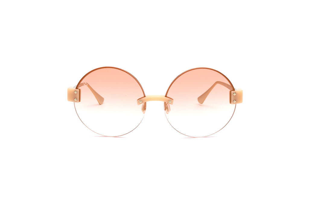 BREAK OF DAWN Peach Sunglasses