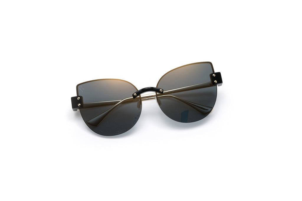 KITTEN CARTEL Black Sunglasses