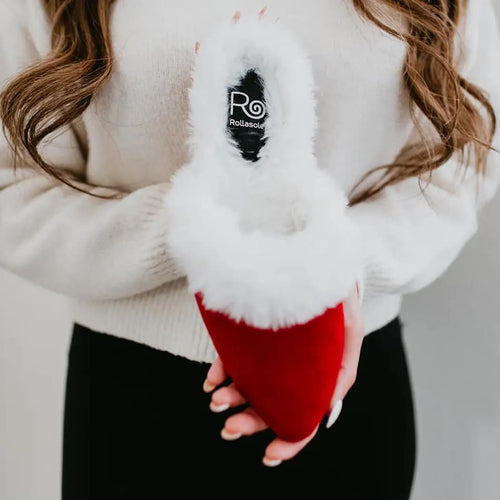 Rollasole Santa Baby Slippers Red