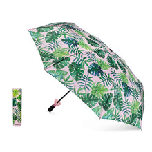 Load image into Gallery viewer, Vinrella Wine Bottle Umbrella Tropical Paradise Pink