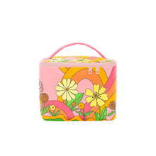 Load image into Gallery viewer, Talking Out of Turn Soulmate Cosmetic Bag In The Groove