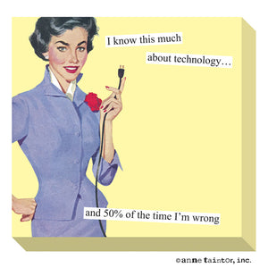Anne Taintor Technology Sticky Notes