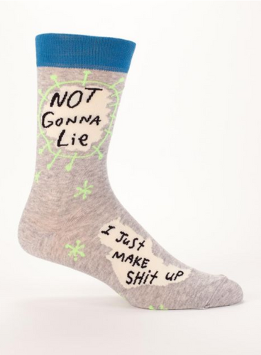 Blue Q Not Gonna Lie Men's Socks