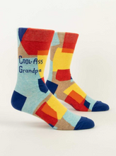 Load image into Gallery viewer, Blue Q Cool Ass Grandpa Men's Socks