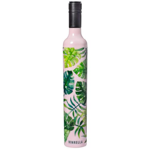 Vinrella Wine Bottle Umbrella Tropical Paradise Pink