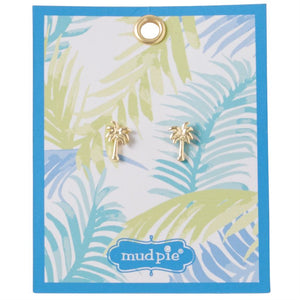 Mud Pie Paradise Earring Palm