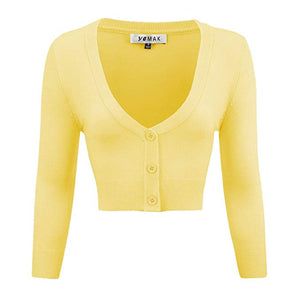 Baby Yellow Cardigan