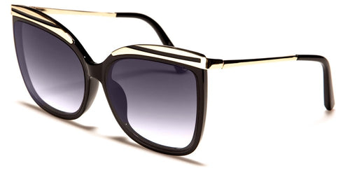 Retro Vibe Gold Top Sunglasses